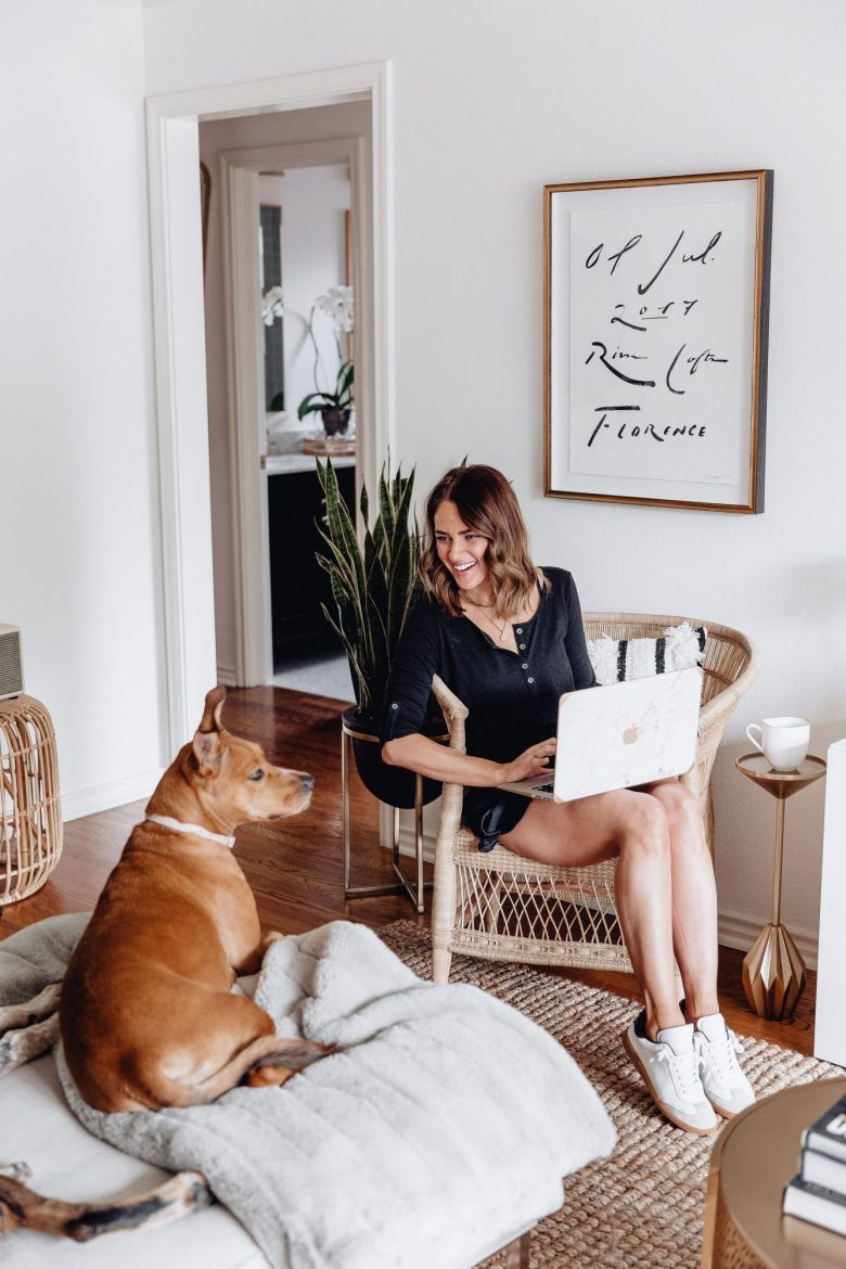 Sharing 10 essentials when working from home to help you stay on track & productive while we all adjust to working at home for the foreseeable future.