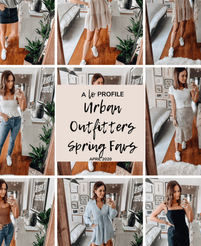 Sharing a roundup of my Urban Outfitters spring favorites including all of the recent pieces I've worn so you can easily shop everything in one place!