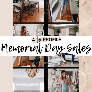 Sharing a roundup of the best memorial day sales 2020 & sharing clothing & home items I have that are currently on sale for Memorial Day.
