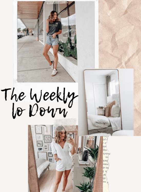 Sharing this week's version of The Weekly Lo Down including this week's online finds, weekend deals, discount codes, recent blog posts, & more.