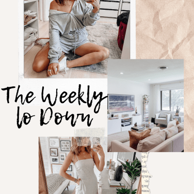 Sharing this week's version of The Weekly Lo Down including my favorite online finds this week, weekend deals, discount codes, recent blog posts, & more.