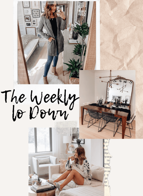 Sharing this week's edition of The Weekly Lo Down including my fav onine finds, answers to your questions, link requests, weekend deals, & more!