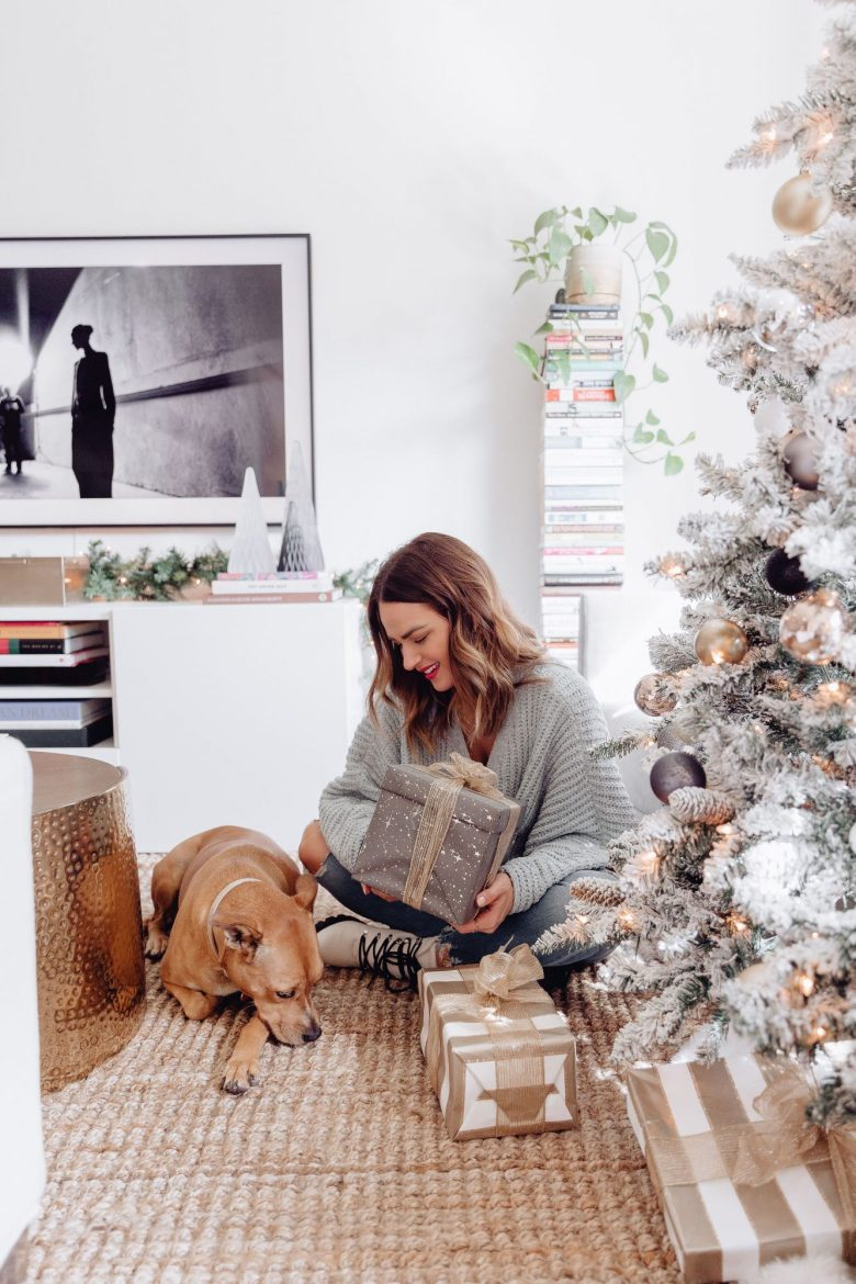 Sharing a roundup of our holiday home decor with photos of what we have around our home & links to easily shop everything in one place.