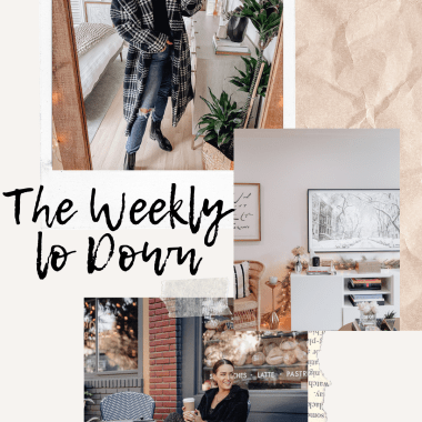 Sharing this week'sversion of The Weekly Lo Down with my fav online finds, your questions/link requests, sales, blog posts, discount codes, & more.