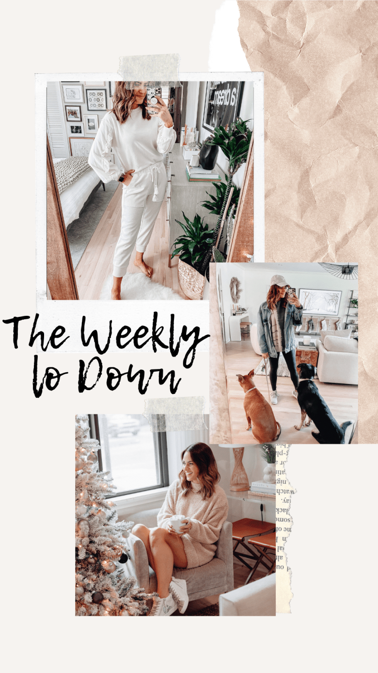 Sharing The Weekly Lo Down | 12.11.2020 with a charitable organization, recent blog posts, discont code, sales, link requests, my fav online finds, & more.