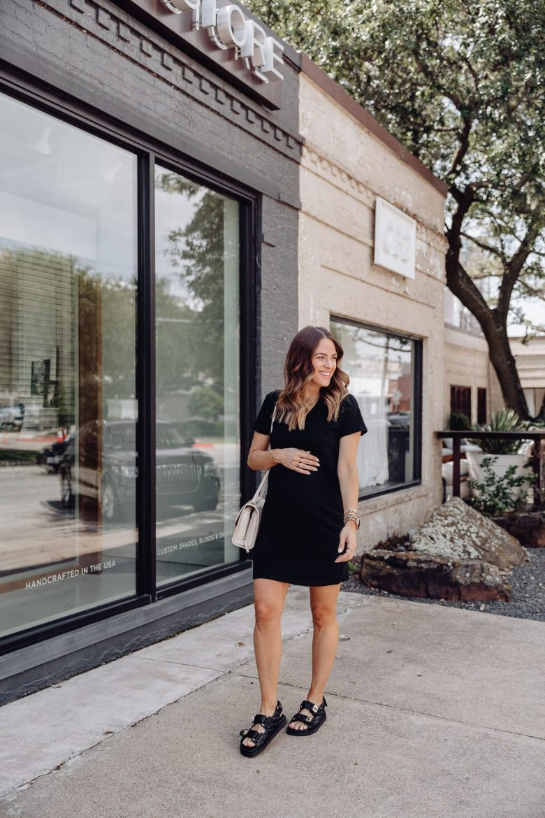 Sharing 4 affordable black dresses for summer from Target with you all today. They are all non-maternity, but bump friendly!