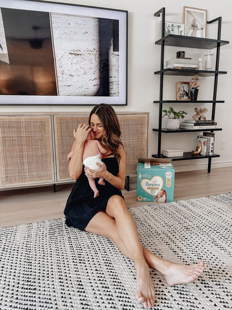 Sharing Emmett's 1 month update & answering some of your questions + sharing a month wide long baby sale going on at Target!