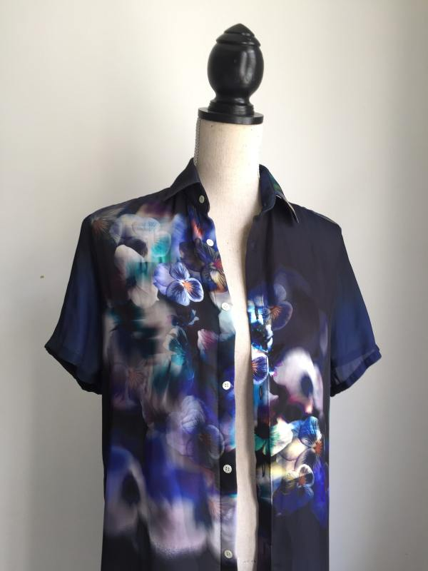 Chemise à motifs made in France