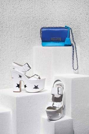 Bag: Moschino - Thuraya Mall Shoes: Stella McCartney - Thuraya Mall, Al Ostoura The Avenues