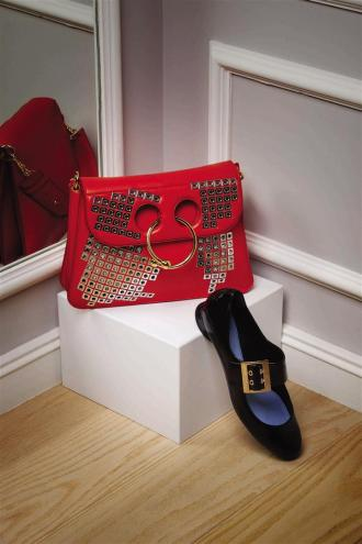 1- J.W Anderson bag Al Ostoura Thuraya Mall 2 - Lanvin shoes Thuraya Mall, Al Ostoura The Avenues