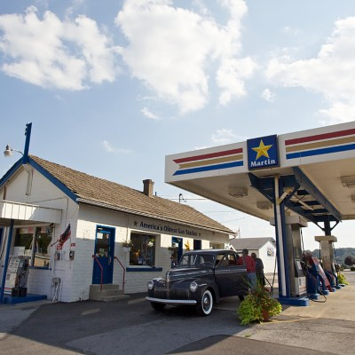 America's Oldest Gas Station