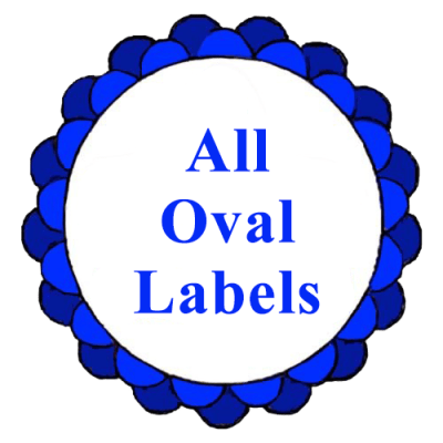 All Oval Labels