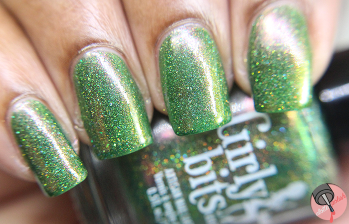 Holiday Nails with Girly Bits, Vapid, Shleee, SuperChic Lacquer - A ...