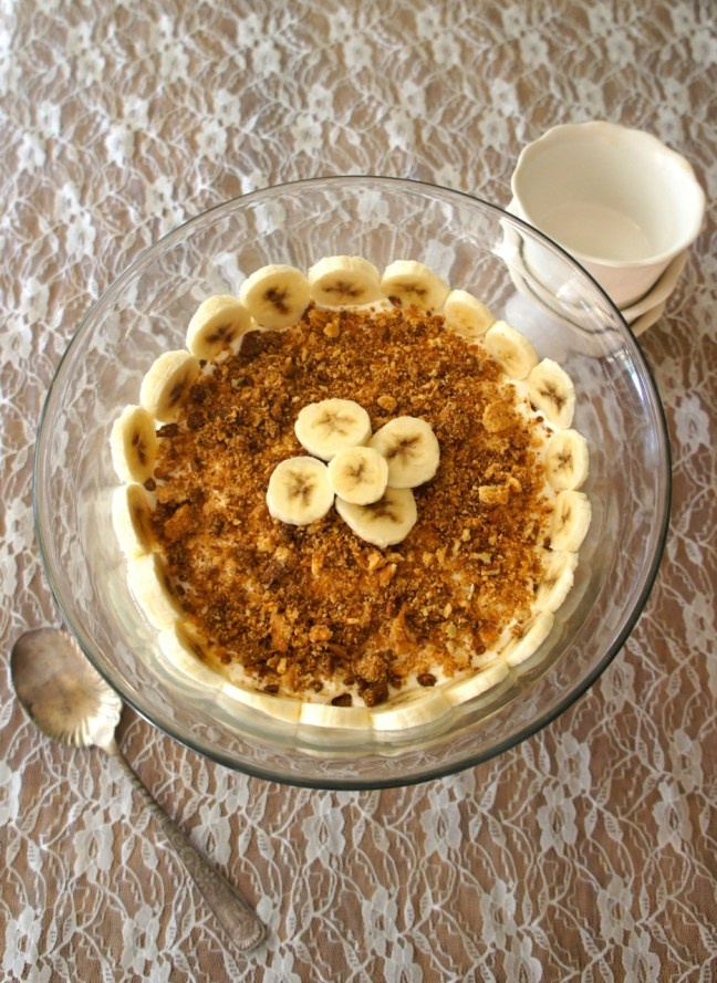 Banana Gingersnap Trifle