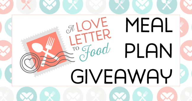 Love Letter to Food Giveaway