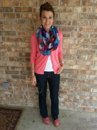 Spring Transition Outfit