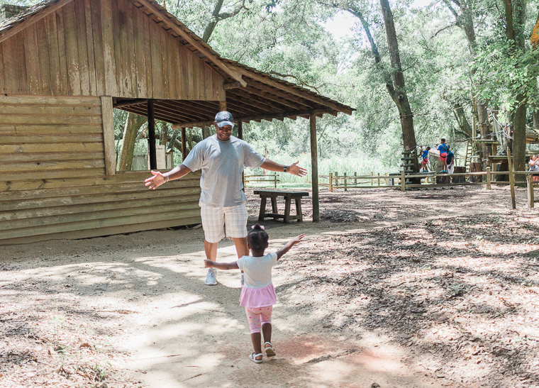 2nd birthday fun at tallahassee museum