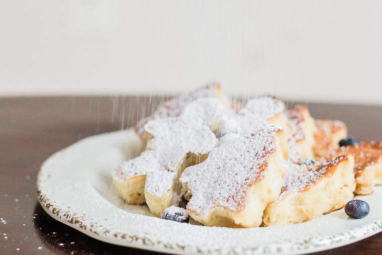christmas sour cream pancakes