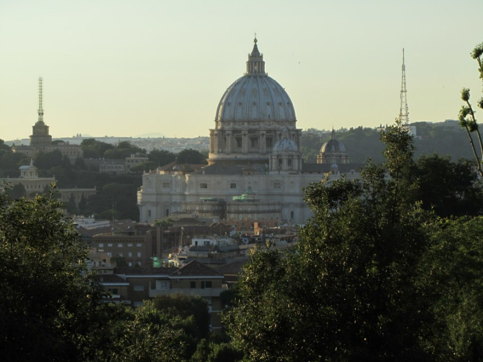 View of the Vatican, Rome