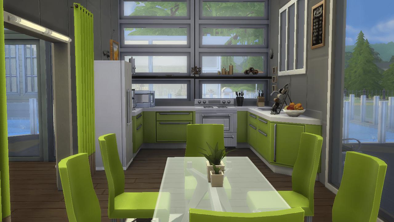 Sims 4 Newcrest Modern huis  ALovelySunshine