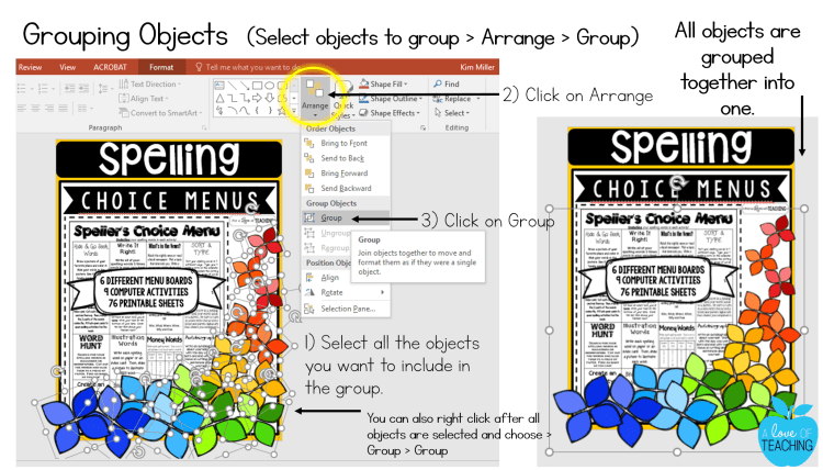 Grouping Objects