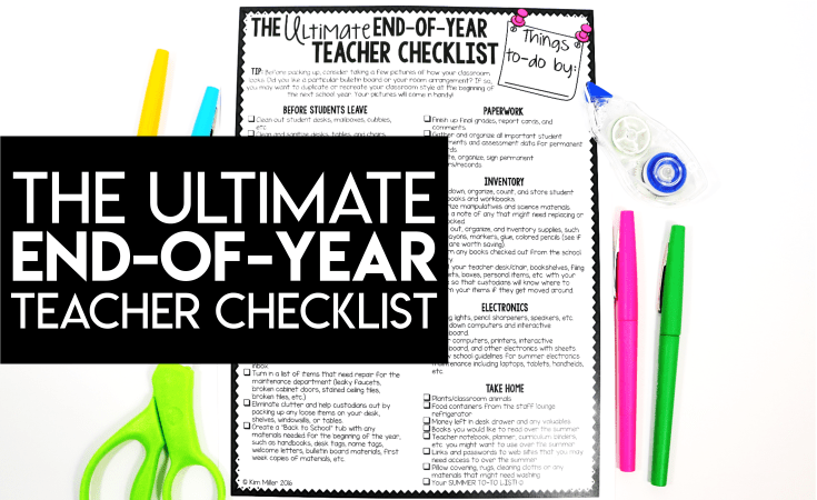 The Ultimate End of Year Checklist