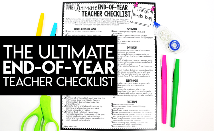 The Ultimate End-of-Year Checklist