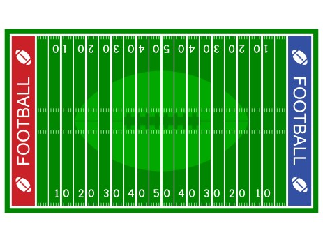 football field for class game