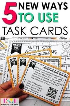 5 new ways to use task cards pin