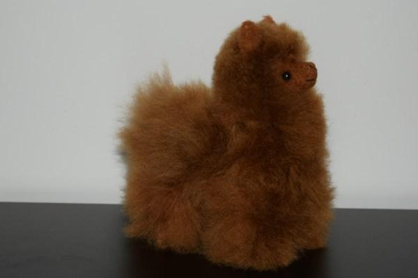 alpaca bruin 15 cm