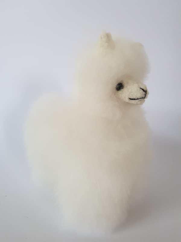 alpaca15 cm wit