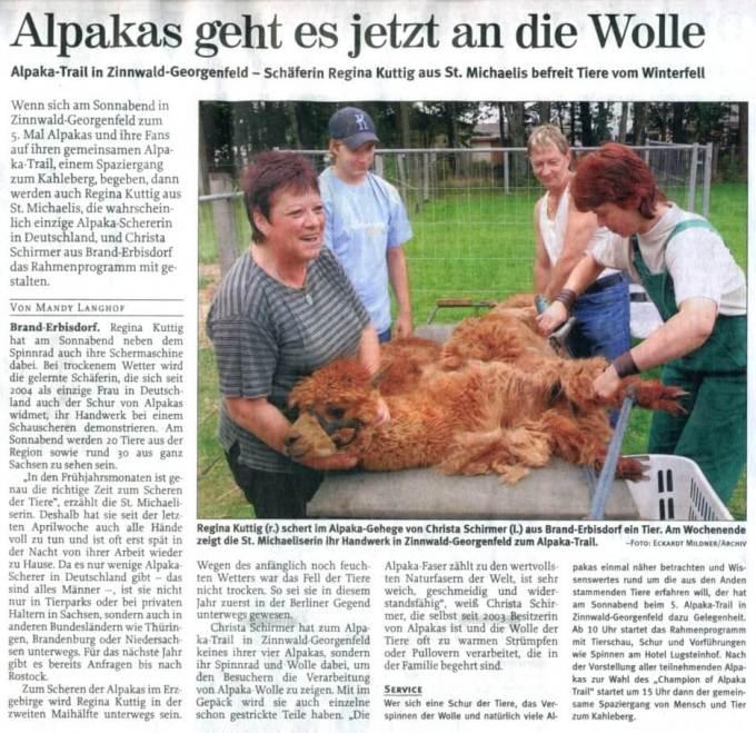 Freie Presse 15.05.2008