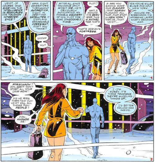 Watchmen 12-013 - Dr.Manhattan's existence is above time
