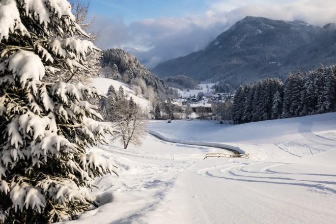 Sachrang im Winterkleid ©Gipfelfieber.com