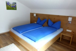 Doppelzimmer, Ferienwohnung Alpenheim, Tux