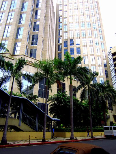 Enterprise Building, Makati City. They have a food court there :D