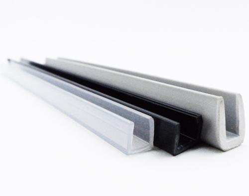 U rígida para vidrio de 4, 5 y 6 mm