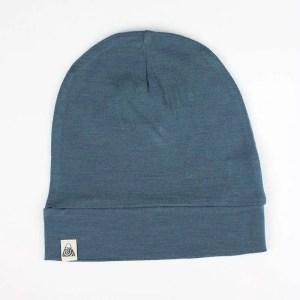 bonnet bébé bleu canard