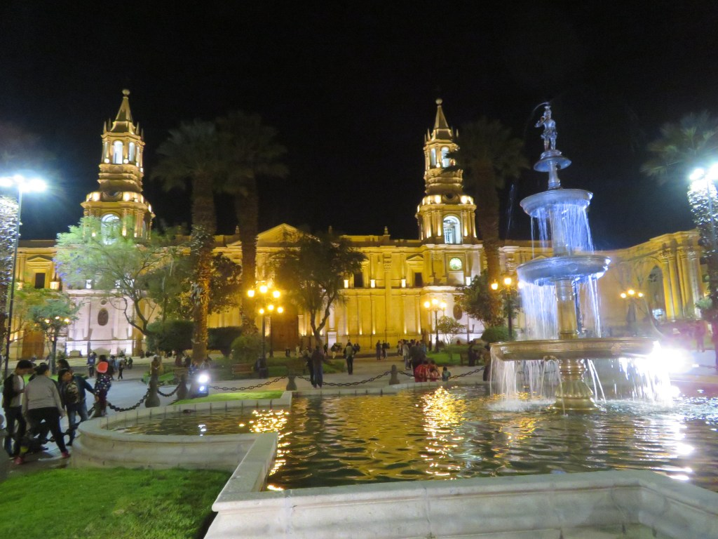 Top Things to do in Arequipa | Plaza de Armas