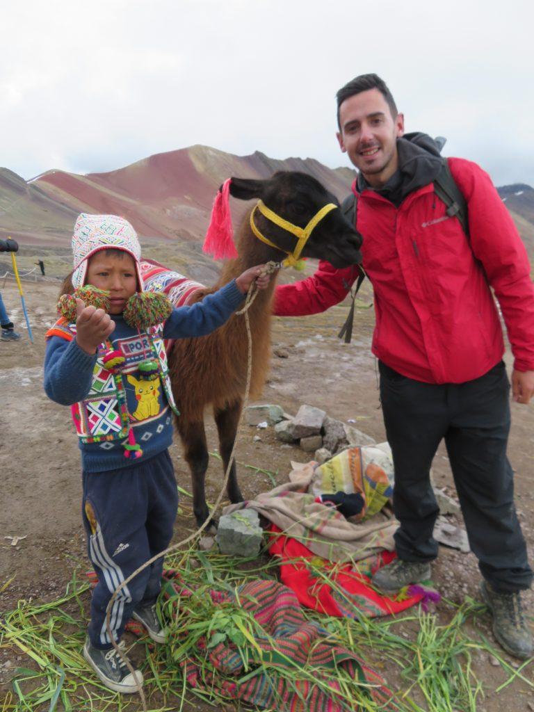 Rainbow Mountain | Llamas and Alpacas