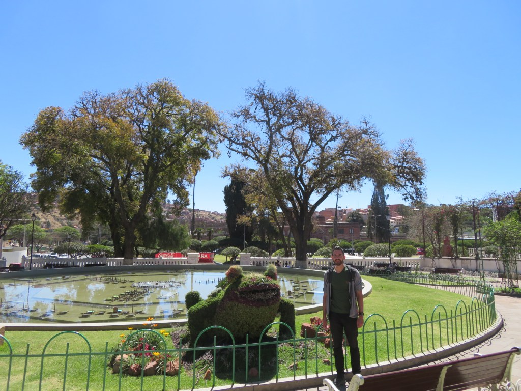 What to do in Sucre Bolivia | Parque Simon Bolivar