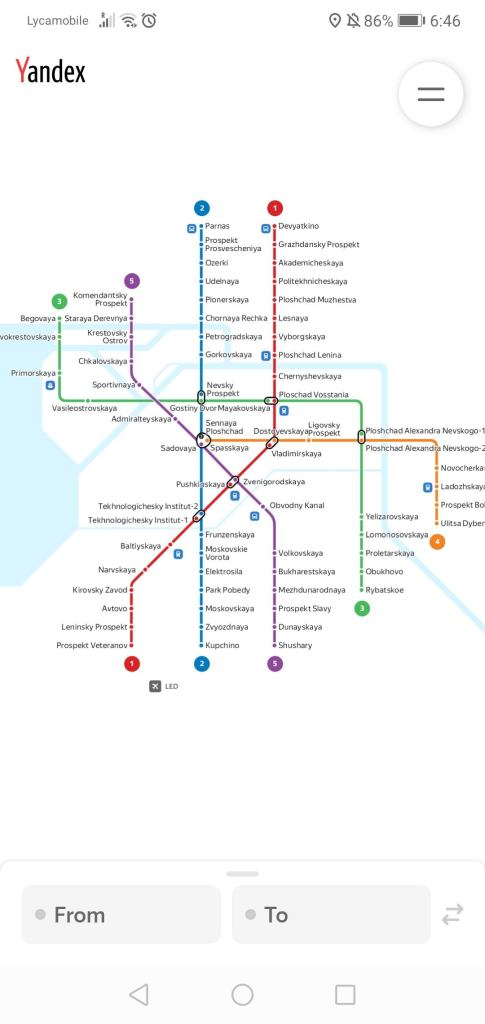 Apps you need to Download before travelling to Russia | Saint Petersburg Metro