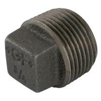 1.1/4″BSPT Male Hollow Plug Black Gf291 | George Fischer