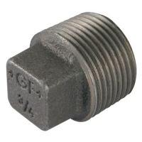 1/8″  BSPT Male Solid Plug Black Gf291S | George Fischer
