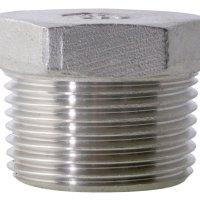 3/4 BSPT M Hex Head Plug 150Lb 316SS