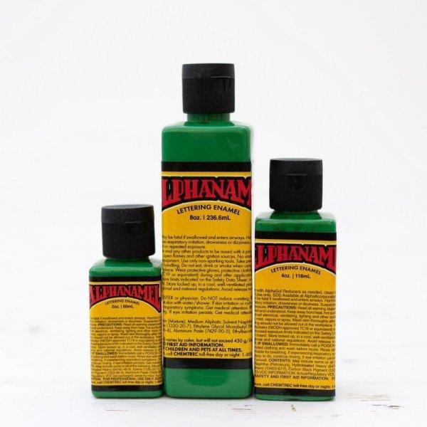 Alphanamel - Hot Rod Green