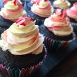 Chocolate Cupcakes with Peppermint Frosting, $38 for 12 (self collection).