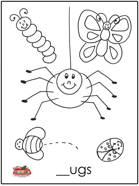 Bug Hunting Worksheet Preschool. Bug. Best Free Printable
