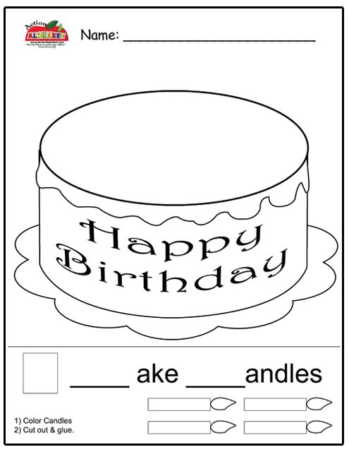 Free pat-a-cake coloring pages