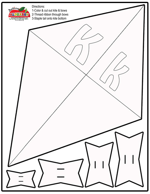 Free Printable Kite Coloring Pages For Kids Kite Shapebook